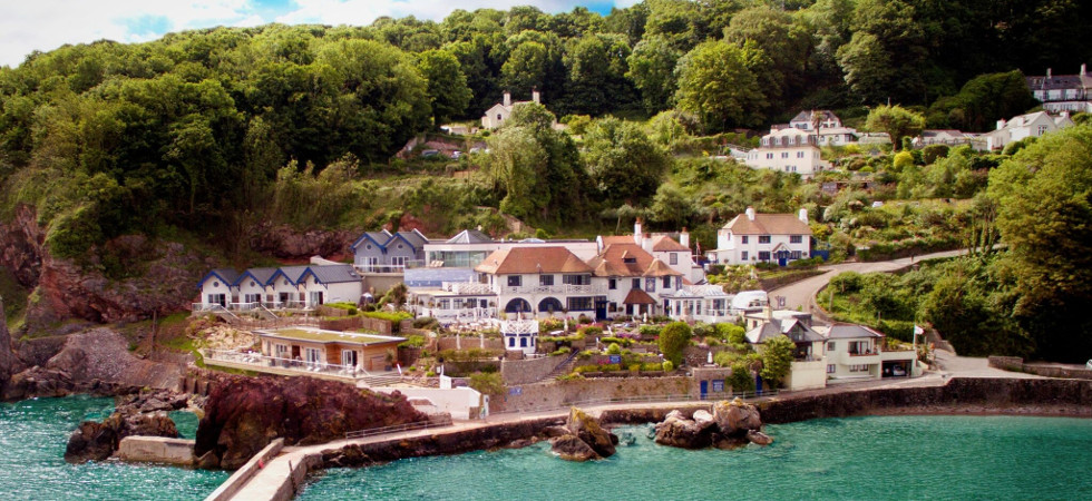 Hotel Review: The Cary Arms & Spa, Babbacombe Beach, Torquay in Devon |  Luxury Lifestyle Magazine
