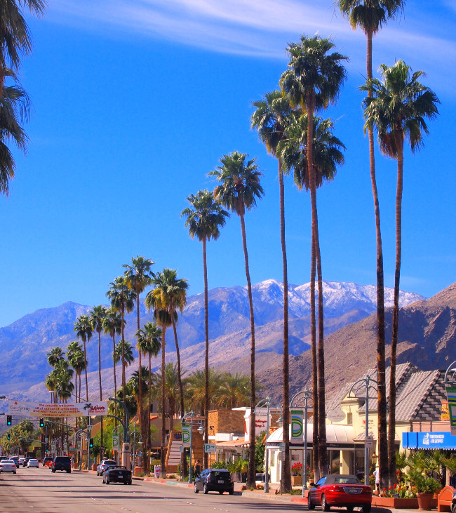 Palm Canyon Drive credit VisitPalmSprings.com