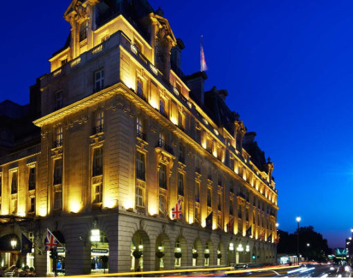 Side-Exterior ritz london hotel