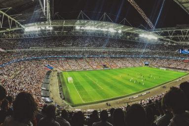football match wembley stadium