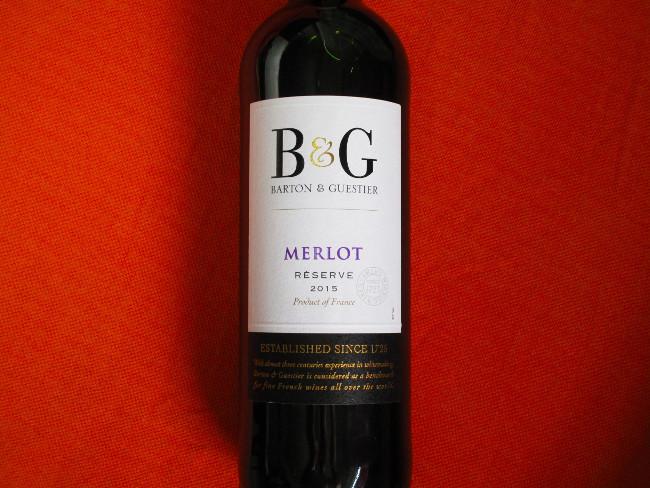 B&G MERLOT RESERVE-LONGUEDOC-FRANCE