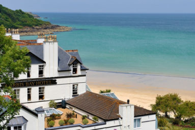 Carbis Bay Hotel & Estate, near St Ives in Cornwall
