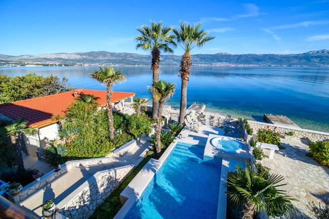 Palm Tree Villa, Slatine, Ciovo, Trogir, Split Riviera (7)