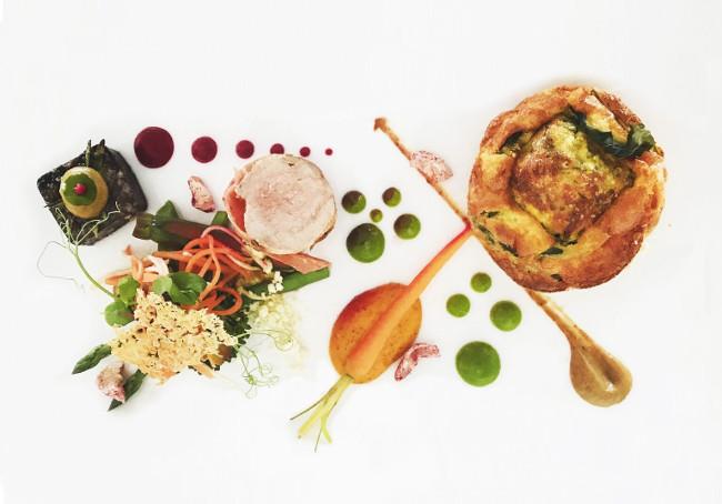 food at carbis bay hotel