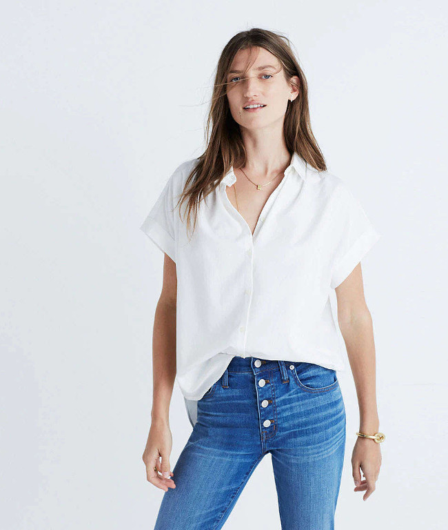 The Central Shirt from Madewell takes the classic button-up style and gives it a relaxed spin.