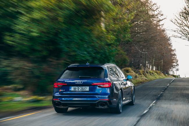 2018 Audi RS4 Avant 2.9TFSI 450HP Quattro