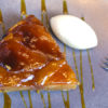 The Galvin Tarte Tatin with crème Normande