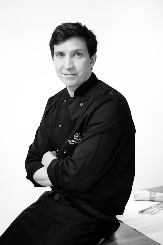 Renowned chef and owner of George's Kitchen, George Rouse,