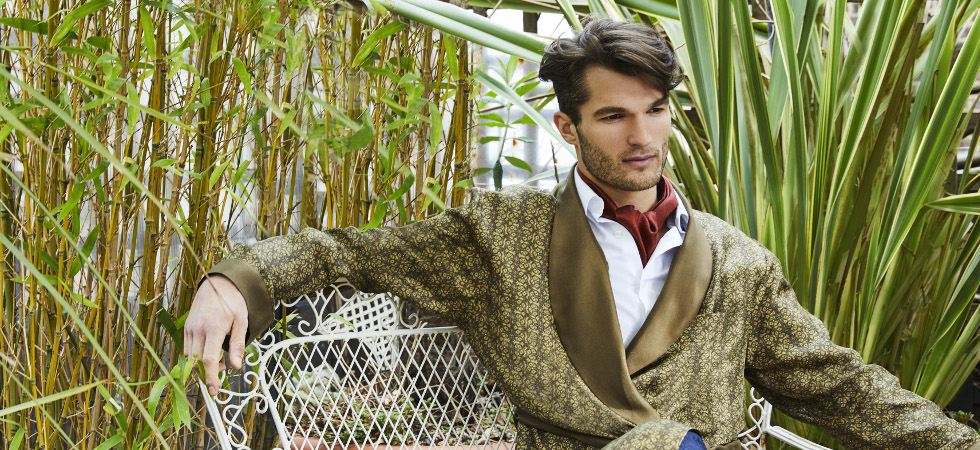 The revival of the silk dressing gown: What makes great luxury ...