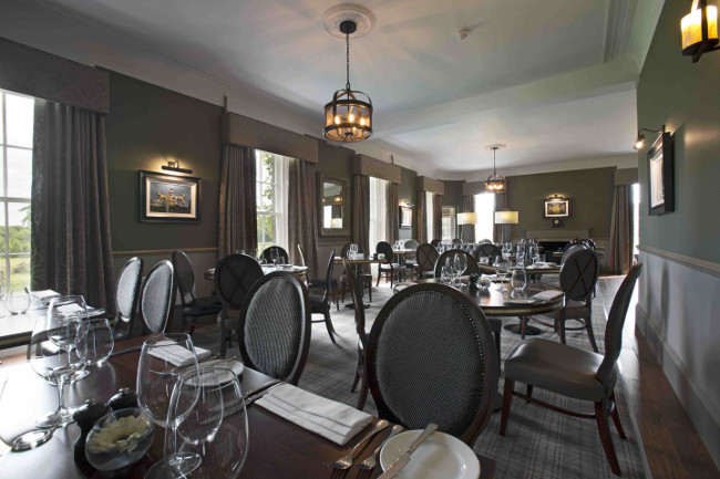 Dining Room at Meldrum House - MH