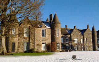 Meldrum House in Aberdeenshire, Scotland