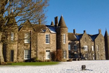 Meldrum House in Aberdeenshire, Scotland