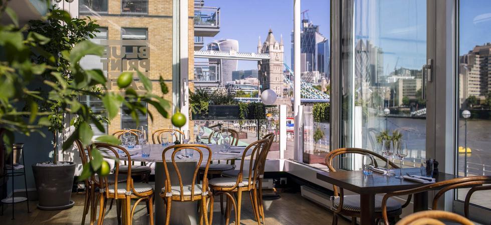 Riverside Terrace Cafe London