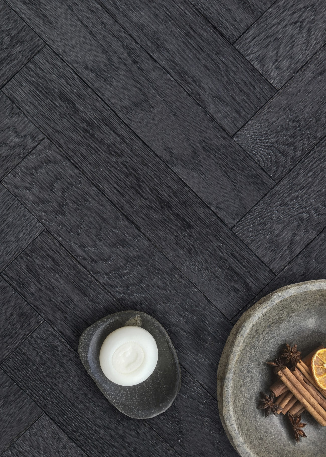 Dusk Oak Herringbone lifestyle