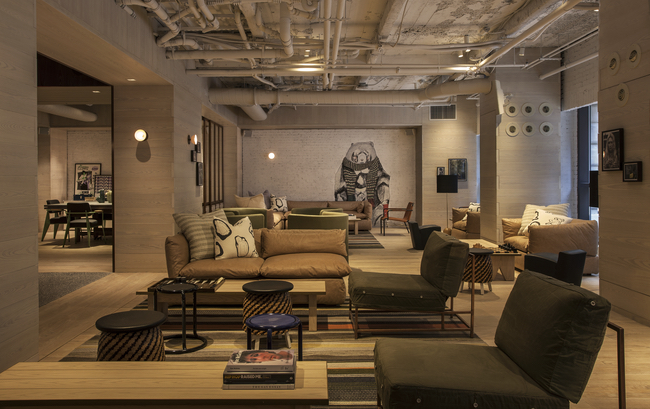 Hotel Review Moxy Hotel Times Square New York In The Usa