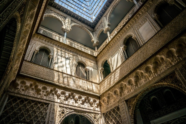 The Real Alcázar in Seville