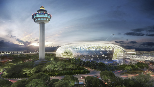 The new icon of Changi Airport