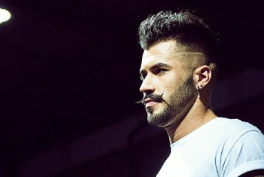 model man hair