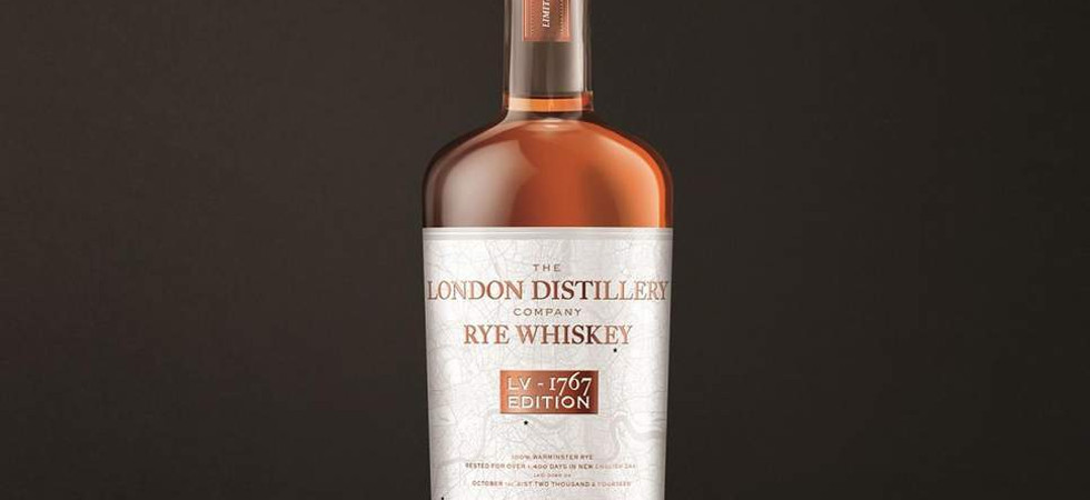 The London Distillery Company Rye Whiskey LV-1767 Edition