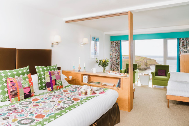 Bedruthan Hotel and Spa, Mawgan Porth in Cornwall