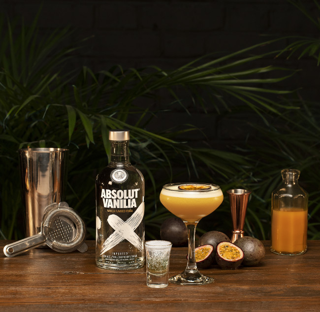 Absolut Porn Star Martini Image
