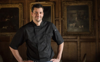 Richard Allen - Head Chef Herb Garden Brasserie - Ye Olde Bell Spa