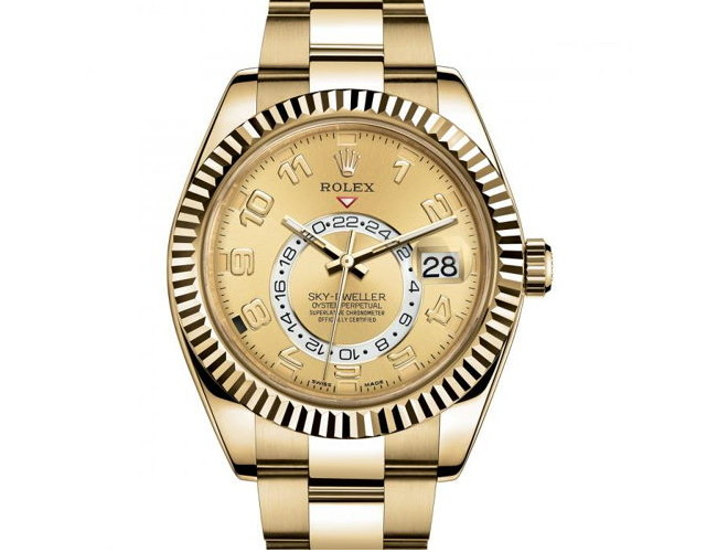 Rolex Sky Dweller Automatic Men Rose gold