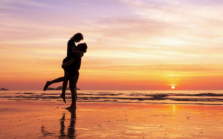 Beach Couple
