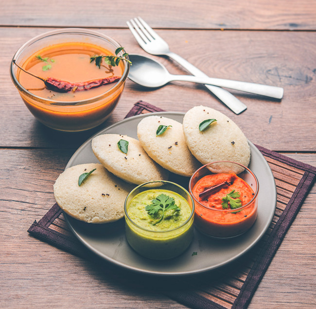 India Idli sambar