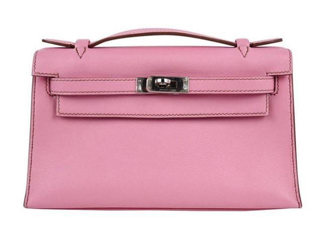 Kelly Leather Clutch by Hermès