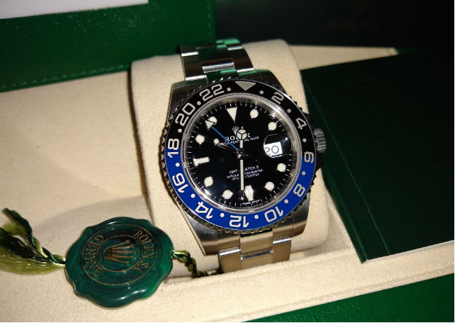 Rolex-GMT-Master-Batman