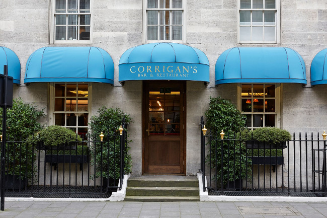 Corrigan's Mayfair, Mayfair in London