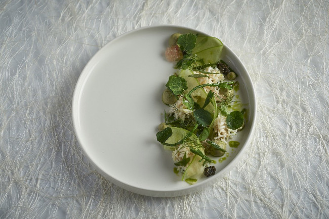Crab Apple, dill, gin, sea herbs