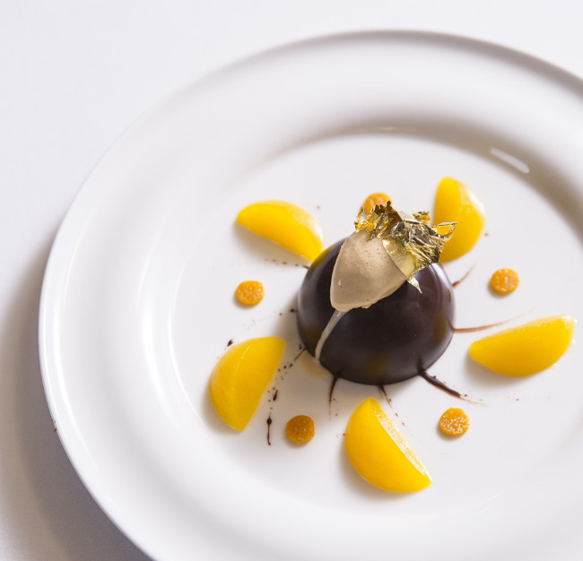 STJ_chocolate mousse, orange jelly