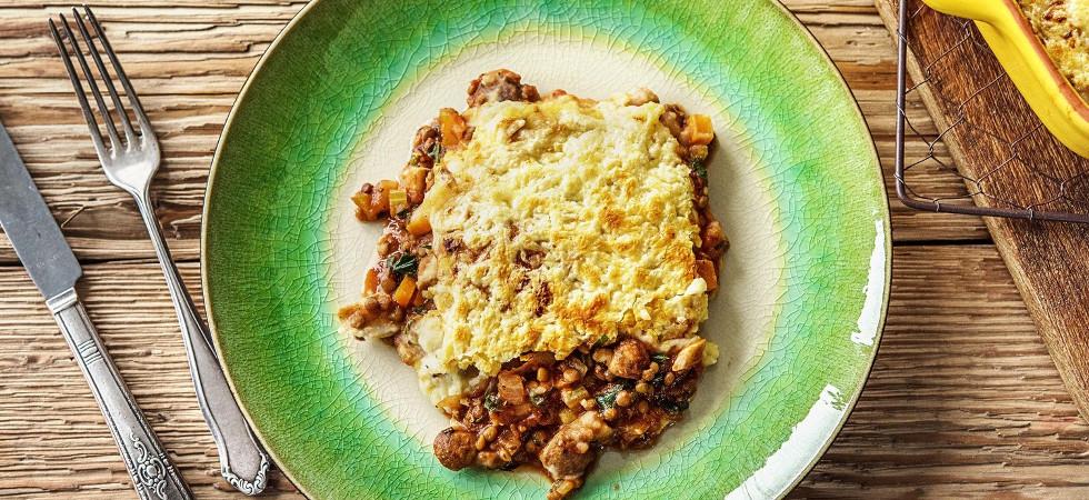 veggie shepherd's pie recipe