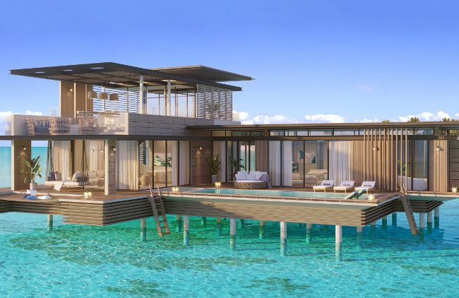 Waldorf Astoria Maldives Ithaafushi_Stella Maris Ocean Villa 2