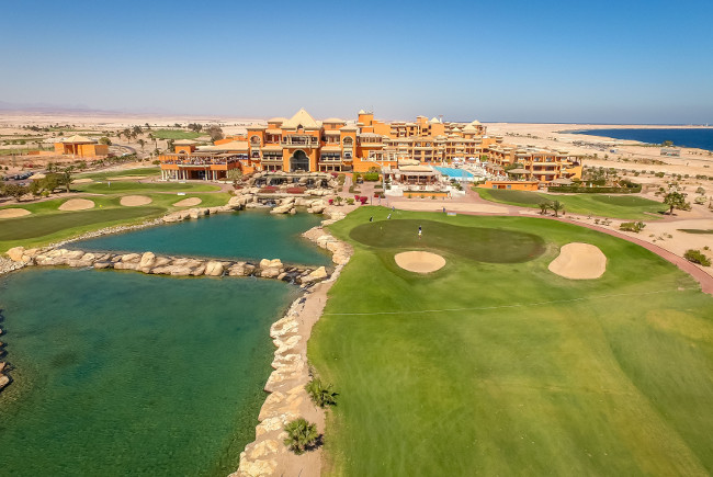 Review: Cascades Championship Golf Course at Cascades Golf Resort Spa & Thalasso, Somabay in Egypt