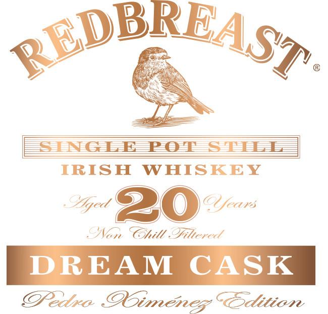 Dream Cask Copper fill Label elements