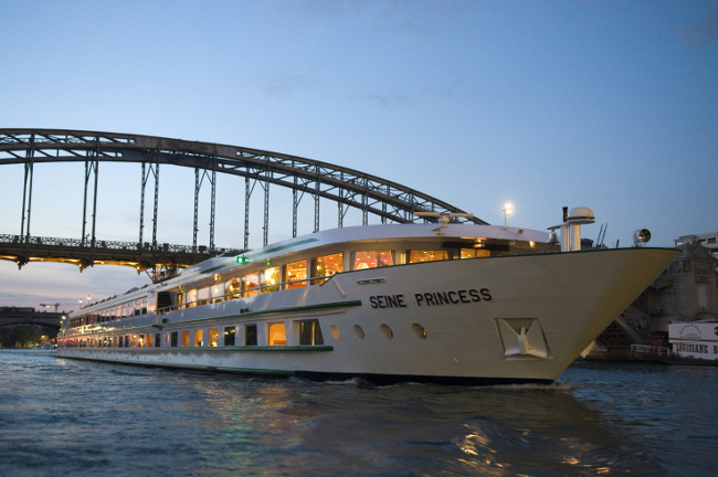 River-lution: Top travel writer Nick Constance takes a luxury cruise down Paris' River Seine