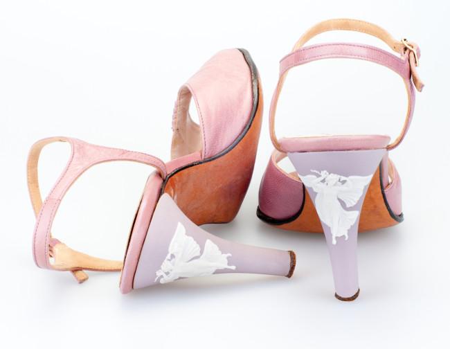 Rayne vintage Wedgewood shoes