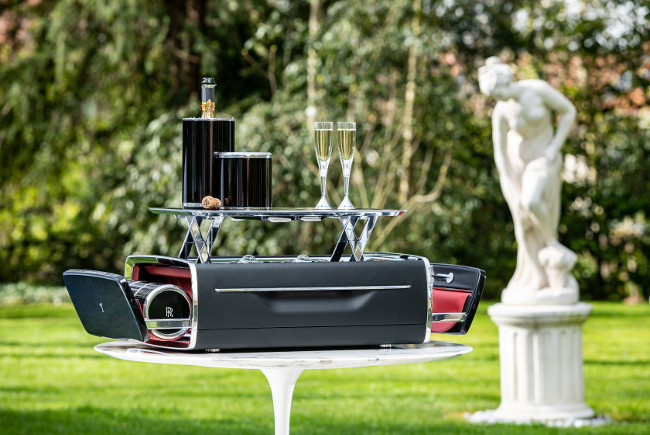Epicurean delight: Rolls-Royce launches Champagne Chest