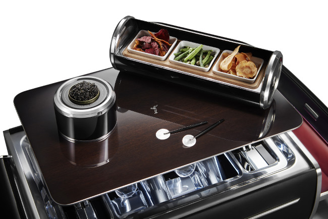 Epicurean delight: Rolls-Royce launches Champagne Chest