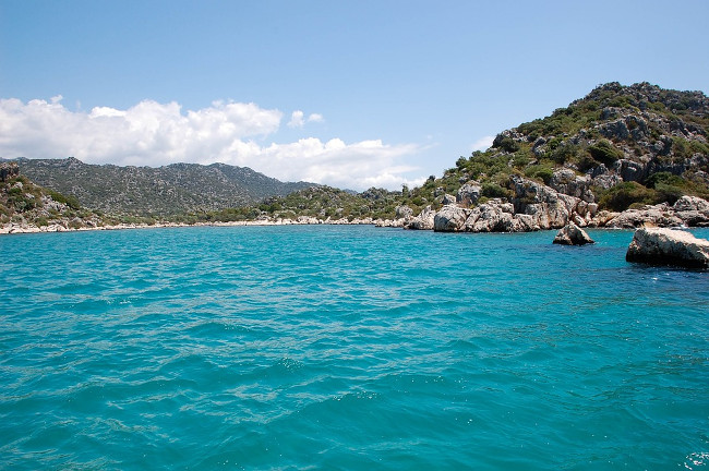 Çiftlik Island, Turkey