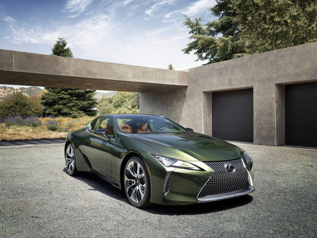 Limited edition Lexus LC coupe launched in striking new colour