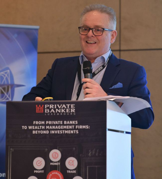 Art Advisor, Ty Murphy, Speaking at the Private Bankers Luxembourg Expo