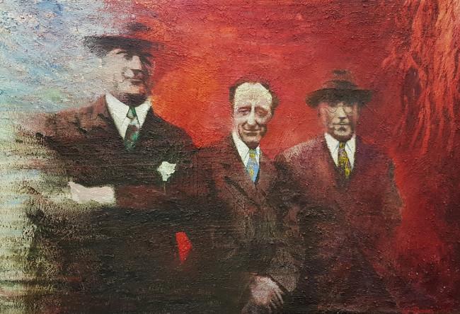 Work by Ivor Davies, established British Artist
