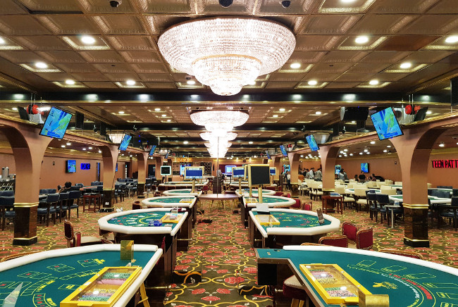 Launching the high life: Big Daddy Casino in Goa, India