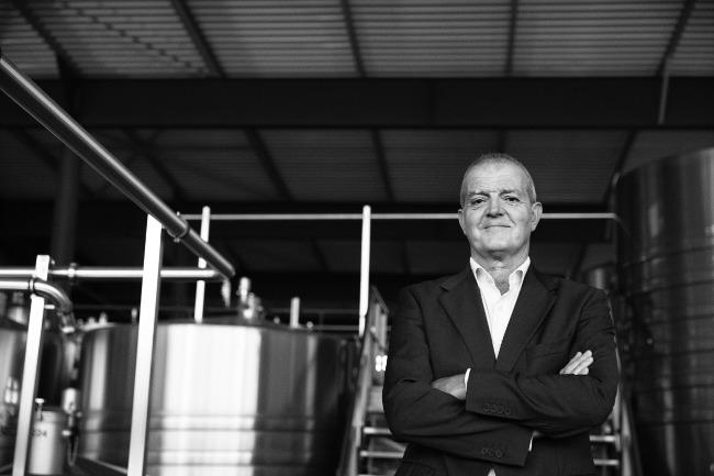 Piper-Heidsieck's most precious asset: chef de cave Regis Camus