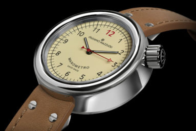 Giuliano Mazzuoli Manometro Watch