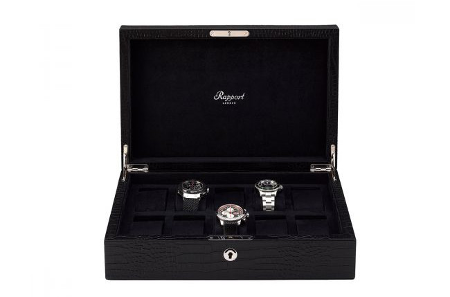 Introducing Rapport London: Luxury watch winders and watch boxes